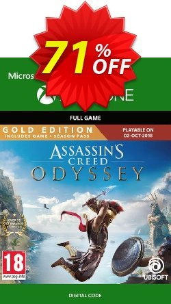 Assassin's Creed Odyssey : Gold Edition Xbox One Coupon discount Assassin's Creed Odyssey : Gold Edition Xbox One Deal. Promotion: Assassin's Creed Odyssey : Gold Edition Xbox One Exclusive offer for iVoicesoft