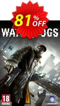 Watch Dogs PC Coupon, discount Watch Dogs PC Deal. Promotion: Watch Dogs PC Exclusive offer for iVoicesoft