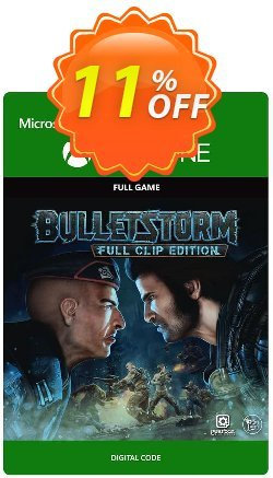 Bulletstorm: Full Clip Edition Xbox One Coupon, discount Bulletstorm: Full Clip Edition Xbox One Deal. Promotion: Bulletstorm: Full Clip Edition Xbox One Exclusive offer for iVoicesoft