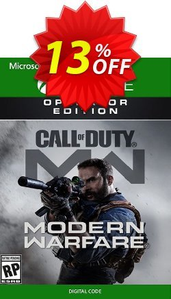 Call of Duty Modern Warfare Operator Edition Xbox One Coupon discount Call of Duty Modern Warfare Operator Edition Xbox One Deal - Call of Duty Modern Warfare Operator Edition Xbox One Exclusive offer for iVoicesoft