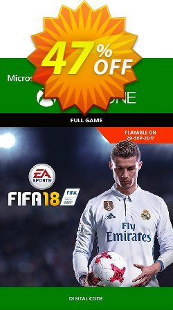 FIFA 18: Standard Edition - Xbox One  Coupon discount FIFA 18: Standard Edition (Xbox One) Deal. Promotion: FIFA 18: Standard Edition (Xbox One) Exclusive offer for iVoicesoft