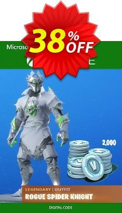 Fortnite: Legendary Rogue Spider Knight Outfit + 2000 V-Bucks Bundle Xbox One Coupon discount Fortnite: Legendary Rogue Spider Knight Outfit + 2000 V-Bucks Bundle Xbox One Deal - Fortnite: Legendary Rogue Spider Knight Outfit + 2000 V-Bucks Bundle Xbox One Exclusive offer for iVoicesoft