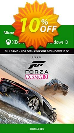 Forza Horizon 3 Deluxe Edition Xbox One/PC Coupon discount Forza Horizon 3 Deluxe Edition Xbox One/PC Deal - Forza Horizon 3 Deluxe Edition Xbox One/PC Exclusive offer for iVoicesoft
