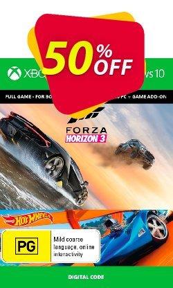 Forza Horizon 3 + Hot Wheels Xbox One/PC Coupon discount Forza Horizon 3 + Hot Wheels Xbox One/PC Deal - Forza Horizon 3 + Hot Wheels Xbox One/PC Exclusive offer for iVoicesoft