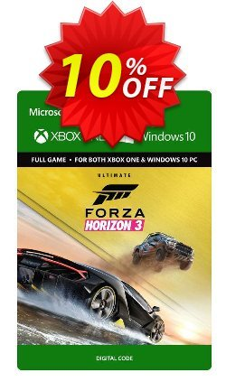 Forza Horizon 3 Ultimate Edition Xbox One/PC Coupon discount Forza Horizon 3 Ultimate Edition Xbox One/PC Deal - Forza Horizon 3 Ultimate Edition Xbox One/PC Exclusive offer for iVoicesoft