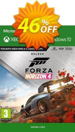 Forza Horizon 4: Deluxe Edition Xbox One/PC Coupon discount Forza Horizon 4: Deluxe Edition Xbox One/PC Deal - Forza Horizon 4: Deluxe Edition Xbox One/PC Exclusive offer for iVoicesoft