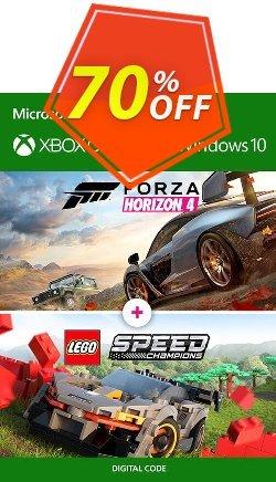 Forza Horizon 4 + Lego Speed Champions Xbox One/PC Coupon discount Forza Horizon 4 + Lego Speed Champions Xbox One/PC Deal - Forza Horizon 4 + Lego Speed Champions Xbox One/PC Exclusive offer for iVoicesoft