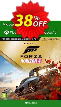 Forza Horizon 4: Ultimate Edition Xbox One/PC - UK  Coupon discount Forza Horizon 4: Ultimate Edition Xbox One/PC (UK) Deal - Forza Horizon 4: Ultimate Edition Xbox One/PC (UK) Exclusive offer for iVoicesoft