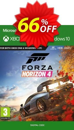 Forza Horizon 4 Xbox One/PC Coupon, discount Forza Horizon 4 Xbox One/PC Deal. Promotion: Forza Horizon 4 Xbox One/PC Exclusive offer for iVoicesoft