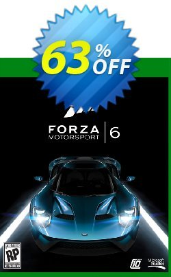 74 Off Forza Motorsport 6 Xbox One Digital Code Coupon Code Oct 2020 Trackedcoupon