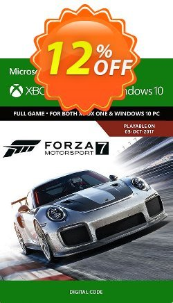 Forza Motorsport 7: Standard Edition Xbox One/PC Coupon discount Forza Motorsport 7: Standard Edition Xbox One/PC Deal - Forza Motorsport 7: Standard Edition Xbox One/PC Exclusive offer for iVoicesoft