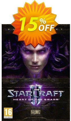 Starcraft II 2: Heart of the Swarm - PC/Mac  Coupon, discount Starcraft II 2: Heart of the Swarm (PC/Mac) Deal. Promotion: Starcraft II 2: Heart of the Swarm (PC/Mac) Exclusive offer for iVoicesoft