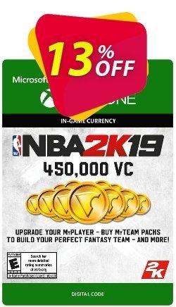 NBA 2K19: 450,000 VC Xbox One Coupon discount NBA 2K19: 450,000 VC Xbox One Deal - NBA 2K19: 450,000 VC Xbox One Exclusive offer for iVoicesoft