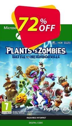 Plants Vs. Zombies: Battle for Neighborville Xbox One Coupon discount Plants Vs. Zombies: Battle for Neighborville Xbox One Deal - Plants Vs. Zombies: Battle for Neighborville Xbox One Exclusive offer for iVoicesoft