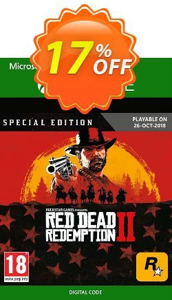 Red Dead Redemption 2: Special Edition Xbox One Coupon discount Red Dead Redemption 2: Special Edition Xbox One Deal - Red Dead Redemption 2: Special Edition Xbox One Exclusive offer for iVoicesoft