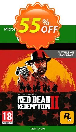 Red Dead Redemption 2 Xbox One Coupon discount Red Dead Redemption 2 Xbox One Deal - Red Dead Redemption 2 Xbox One Exclusive offer for iVoicesoft