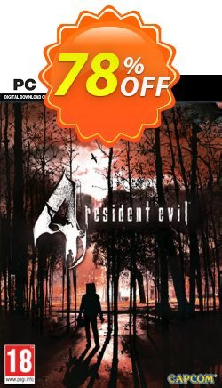 Resident Evil 4 HD PC Coupon discount Resident Evil 4 HD PC Deal - Resident Evil 4 HD PC Exclusive offer for iVoicesoft