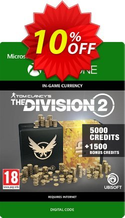 Tom Clancy's The Division 2 6500 Credits Xbox One Coupon discount Tom Clancy's The Division 2 6500 Credits Xbox One Deal - Tom Clancy's The Division 2 6500 Credits Xbox One Exclusive offer for iVoicesoft