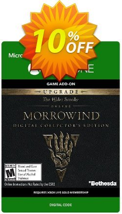 The Elder Scrolls Online Morrowind Collectors Edition Upgrade Xbox One Coupon discount The Elder Scrolls Online Morrowind Collectors Edition Upgrade Xbox One Deal - The Elder Scrolls Online Morrowind Collectors Edition Upgrade Xbox One Exclusive offer for iVoicesoft