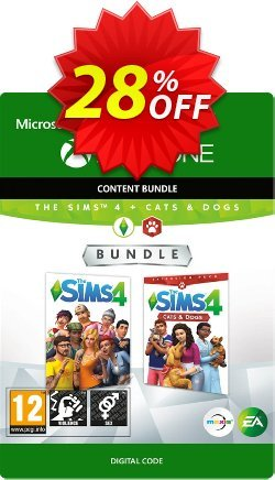 The Sims 4 - Cats and Dogs Bundle Xbox One Coupon discount The Sims 4 - Cats and Dogs Bundle Xbox One Deal - The Sims 4 - Cats and Dogs Bundle Xbox One Exclusive offer for iVoicesoft