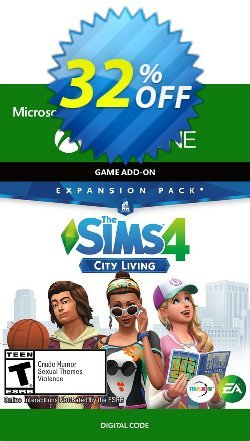 The Sims 4 - City Living Expansion Pack Xbox One Coupon discount The Sims 4 - City Living Expansion Pack Xbox One Deal - The Sims 4 - City Living Expansion Pack Xbox One Exclusive offer for iVoicesoft