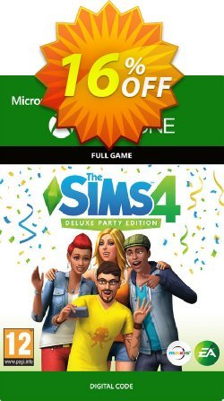 The Sims 4 - Deluxe Party Edition Xbox One Coupon discount The Sims 4 - Deluxe Party Edition Xbox One Deal - The Sims 4 - Deluxe Party Edition Xbox One Exclusive offer for iVoicesoft
