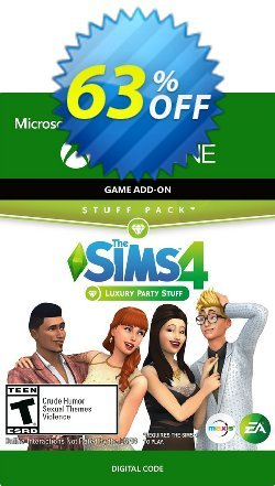 The Sims 4 - Luxury Party Stuff Xbox One Coupon discount The Sims 4 - Luxury Party Stuff Xbox One Deal - The Sims 4 - Luxury Party Stuff Xbox One Exclusive offer for iVoicesoft