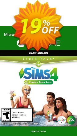 The Sims 4 - Perfect Patio Stuff Xbox One Coupon discount The Sims 4 - Perfect Patio Stuff Xbox One Deal - The Sims 4 - Perfect Patio Stuff Xbox One Exclusive offer for iVoicesoft
