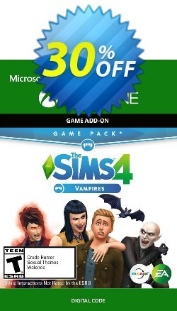 The Sims 4 - Vampires Game Pack Xbox One Coupon discount The Sims 4 - Vampires Game Pack Xbox One Deal - The Sims 4 - Vampires Game Pack Xbox One Exclusive offer for iVoicesoft