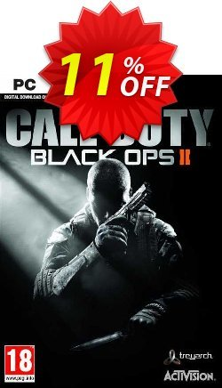Call of Duty: Black Ops II 2 - PC  Coupon, discount Call of Duty: Black Ops II 2 (PC) Deal. Promotion: Call of Duty: Black Ops II 2 (PC) Exclusive offer for iVoicesoft