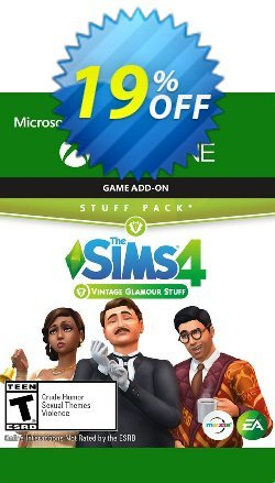 The Sims 4 - Vintage Glamour Stuff Xbox One Coupon discount The Sims 4 - Vintage Glamour Stuff Xbox One Deal - The Sims 4 - Vintage Glamour Stuff Xbox One Exclusive offer for iVoicesoft