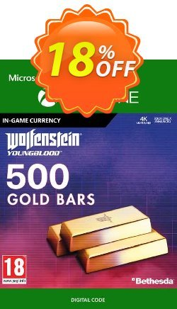 Wolfenstein: Youngblood - 500 Gold Bars Xbox One Coupon discount Wolfenstein: Youngblood - 500 Gold Bars Xbox One Deal - Wolfenstein: Youngblood - 500 Gold Bars Xbox One Exclusive offer for iVoicesoft