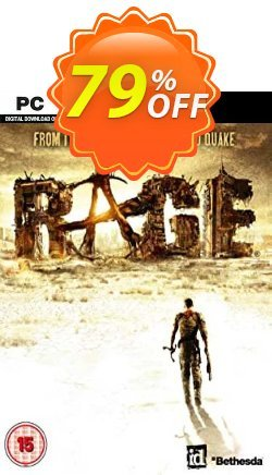 RAGE - PC  Coupon, discount RAGE (PC) Deal. Promotion: RAGE (PC) Exclusive offer for iVoicesoft