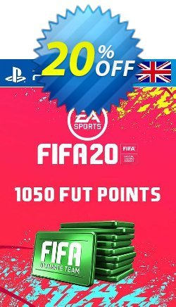 1050 FIFA 20 Ultimate Team Points PS4 PSN Code - UK account Coupon discount 1050 FIFA 20 Ultimate Team Points PS4 PSN Code - UK account Deal - 1050 FIFA 20 Ultimate Team Points PS4 PSN Code - UK account Exclusive offer for iVoicesoft