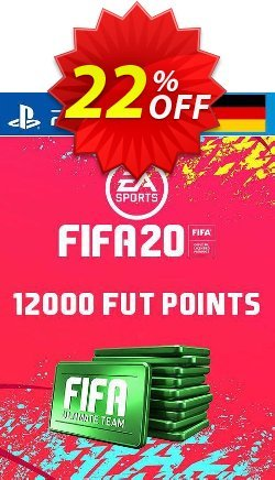 12000 FIFA 20 Ultimate Team Points PS4 - Germany  Coupon discount 12000 FIFA 20 Ultimate Team Points PS4 (Germany) Deal - 12000 FIFA 20 Ultimate Team Points PS4 (Germany) Exclusive offer for iVoicesoft