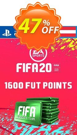 1600 FIFA 20 Ultimate Team Points PS4 - Austria  Coupon discount 1600 FIFA 20 Ultimate Team Points PS4 (Austria) Deal - 1600 FIFA 20 Ultimate Team Points PS4 (Austria) Exclusive offer for iVoicesoft