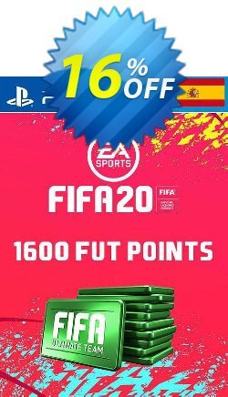 1600 FIFA 20 Ultimate Team Points PS4 - Spain  Coupon discount 1600 FIFA 20 Ultimate Team Points PS4 (Spain) Deal - 1600 FIFA 20 Ultimate Team Points PS4 (Spain) Exclusive offer for iVoicesoft