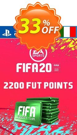 2200 FIFA 20 Ultimate Team Points PS4 - Italy  Coupon discount 2200 FIFA 20 Ultimate Team Points PS4 (Italy) Deal - 2200 FIFA 20 Ultimate Team Points PS4 (Italy) Exclusive offer for iVoicesoft