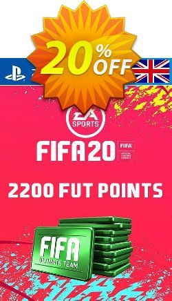 2200 FIFA 20 Ultimate Team Points PS4 PSN Code - UK account Coupon discount 2200 FIFA 20 Ultimate Team Points PS4 PSN Code - UK account Deal - 2200 FIFA 20 Ultimate Team Points PS4 PSN Code - UK account Exclusive offer for iVoicesoft
