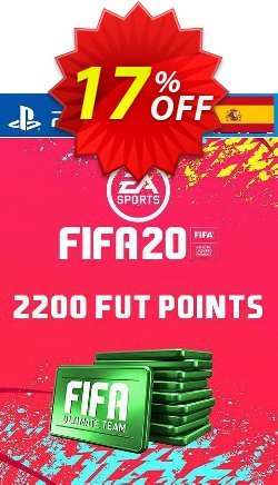 2200 FIFA 20 Ultimate Team Points PS4 - Spain  Coupon discount 2200 FIFA 20 Ultimate Team Points PS4 (Spain) Deal - 2200 FIFA 20 Ultimate Team Points PS4 (Spain) Exclusive offer for iVoicesoft