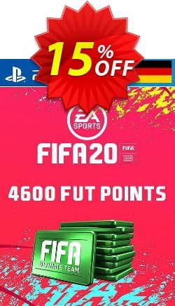 4600 FIFA 20 Ultimate Team Points PS4 - Germany  Coupon discount 4600 FIFA 20 Ultimate Team Points PS4 (Germany) Deal - 4600 FIFA 20 Ultimate Team Points PS4 (Germany) Exclusive offer for iVoicesoft