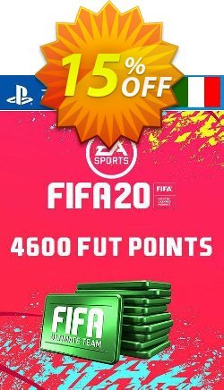 4600 FIFA 20 Ultimate Team Points PS4 - Italy  Coupon discount 4600 FIFA 20 Ultimate Team Points PS4 (Italy) Deal. Promotion: 4600 FIFA 20 Ultimate Team Points PS4 (Italy) Exclusive offer for iVoicesoft