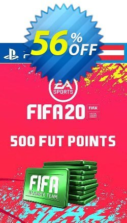 500 FIFA 20 Ultimate Team Points PS4 - Austria  Coupon discount 500 FIFA 20 Ultimate Team Points PS4 (Austria) Deal - 500 FIFA 20 Ultimate Team Points PS4 (Austria) Exclusive offer for iVoicesoft