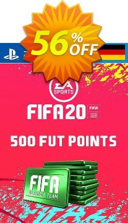 500 FIFA 20 Ultimate Team Points PS4 - Germany  Coupon discount 500 FIFA 20 Ultimate Team Points PS4 (Germany) Deal - 500 FIFA 20 Ultimate Team Points PS4 (Germany) Exclusive offer for iVoicesoft