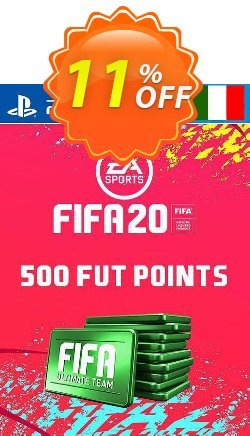 500 FIFA 20 Ultimate Team Points PS4 - Italy  Coupon discount 500 FIFA 20 Ultimate Team Points PS4 (Italy) Deal - 500 FIFA 20 Ultimate Team Points PS4 (Italy) Exclusive offer for iVoicesoft
