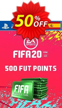 500 FIFA 20 Ultimate Team Points PS4 - Spain  Coupon discount 500 FIFA 20 Ultimate Team Points PS4 (Spain) Deal - 500 FIFA 20 Ultimate Team Points PS4 (Spain) Exclusive offer for iVoicesoft
