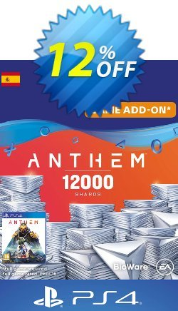 Anthem 12000 Shards PS4 - Spain  Coupon discount Anthem 12000 Shards PS4 (Spain) Deal - Anthem 12000 Shards PS4 (Spain) Exclusive offer for iVoicesoft