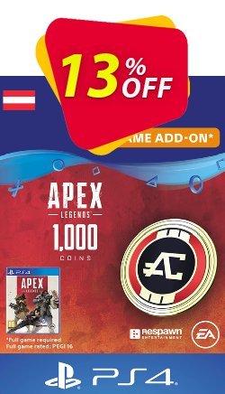 Apex Legends 1000 Coins PS4 - Austria  Coupon discount Apex Legends 1000 Coins PS4 (Austria) Deal - Apex Legends 1000 Coins PS4 (Austria) Exclusive offer for iVoicesoft