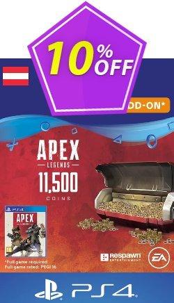 Apex Legends 11500 Coins PS4 - Austria  Coupon discount Apex Legends 11500 Coins PS4 (Austria) Deal - Apex Legends 11500 Coins PS4 (Austria) Exclusive offer for iVoicesoft