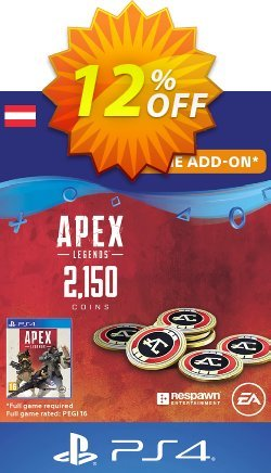 Apex Legends 2150 Coins PS4 - Austria  Coupon discount Apex Legends 2150 Coins PS4 (Austria) Deal - Apex Legends 2150 Coins PS4 (Austria) Exclusive offer for iVoicesoft